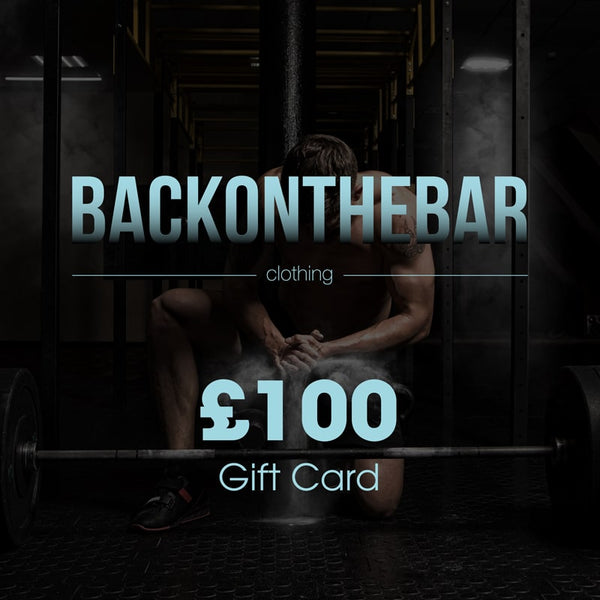 Back On The Bar Clothing Gift Card £100