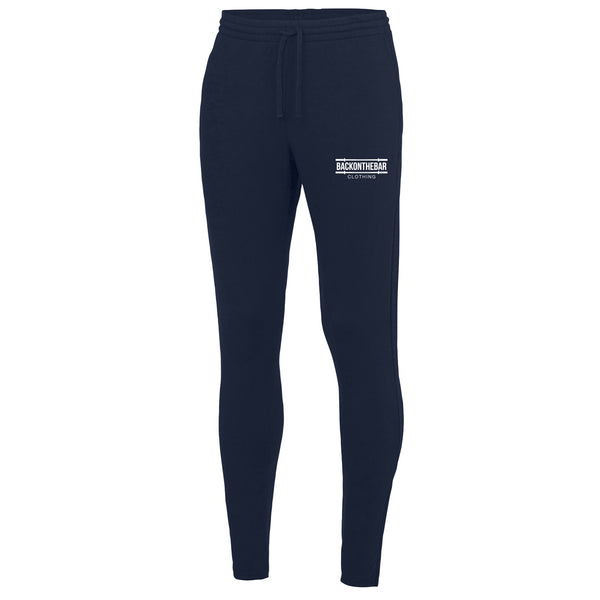 Back On The Bar French Navy Cool Tapered Joggers
