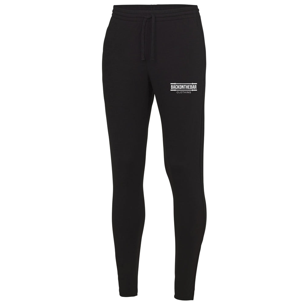 Cool Tapered Joggers - Jet Black