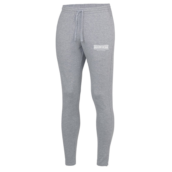Back On The Bar Sports Grey Cool Tapered Joggers
