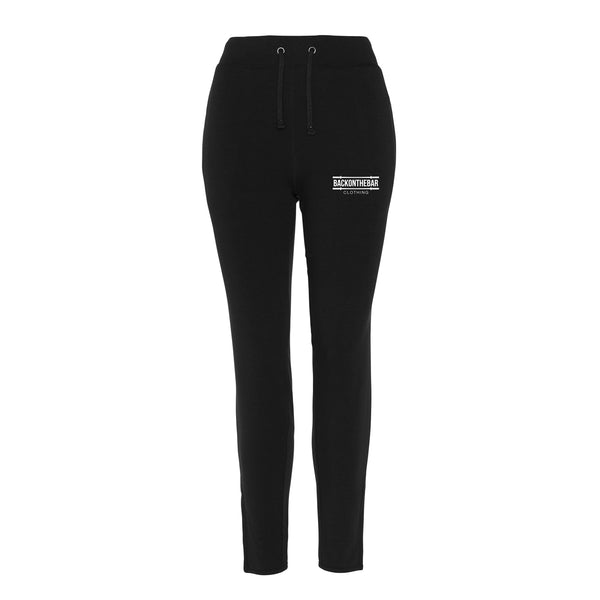 Women's Back On The Bar Cool Tapered Joggers Black