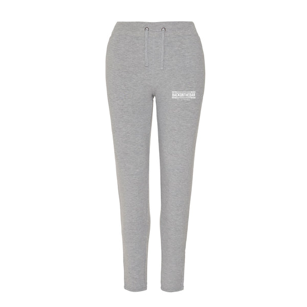 Women's Back On The Bar Cool Tapered Joggers Sports Grey