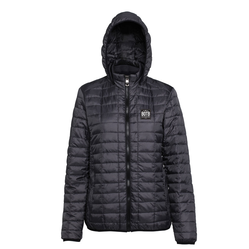 Women's Honeycomb Hooded Jacket - Steel