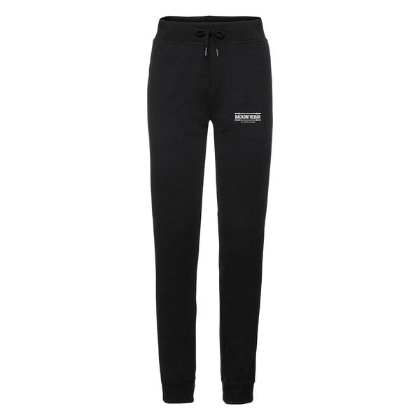 Women's Back On The Bar HD Slim Leg Joggers Black