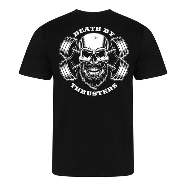 Death By Thrusters Triblend T-Shirt - Solid Black