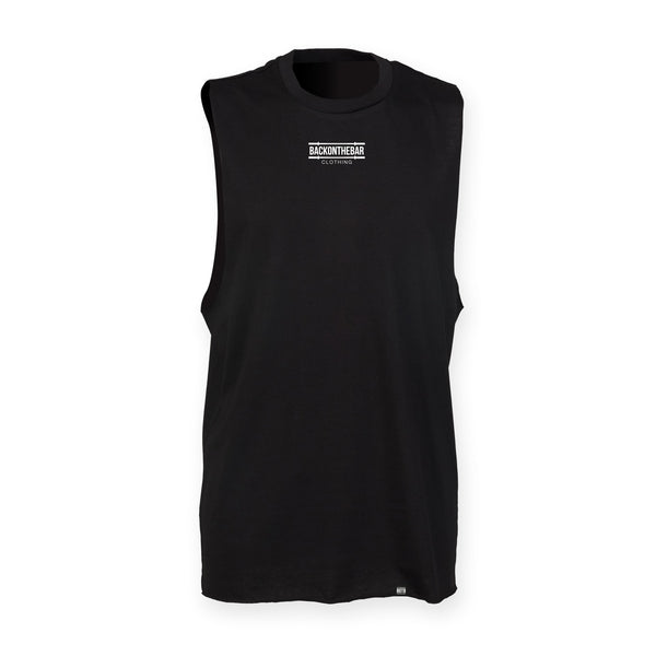 Death By Thrusters High Neck Slash Armhole Vest