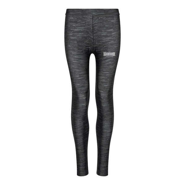 Women's Cool Leggings - Charcoal Static