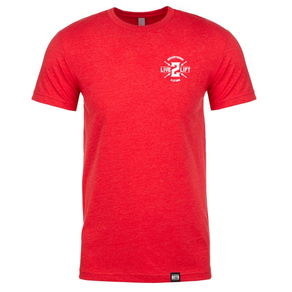 Live 2 Lift T-Shirt Red