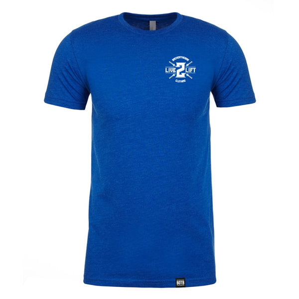 Live 2 Lift T-Shirt Royal Blue