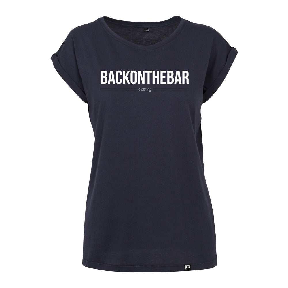 Originals Extended Shoulder Tee - Navy