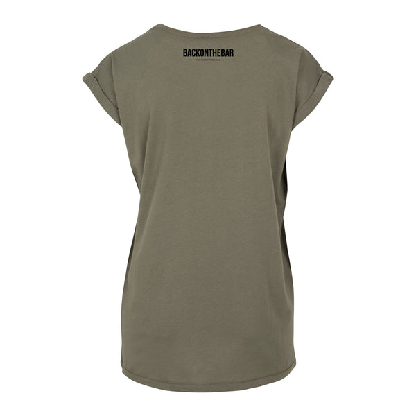 Originals Extended Shoulder Tee - Olive