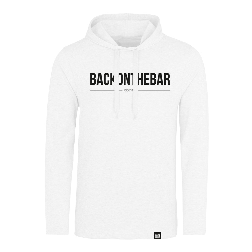 Originals Long Sleeve Hooded Tee - White