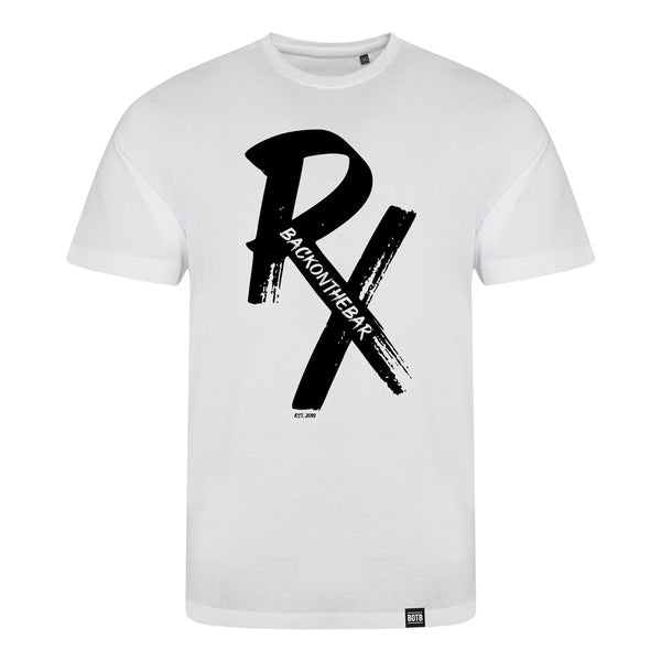RX Triblend T-Shirt Black/Solid White