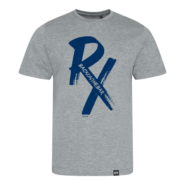 RX Triblend T-Shirt Blue/Heather Grey
