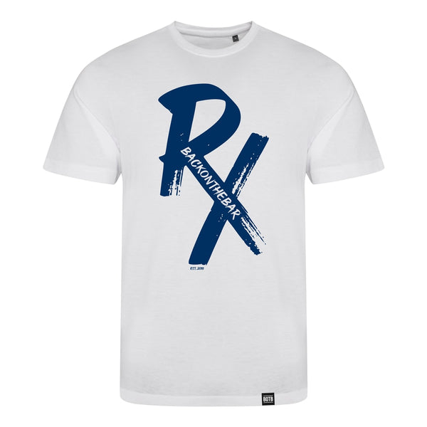 RX Triblend T-Shirt Blue/Solid White