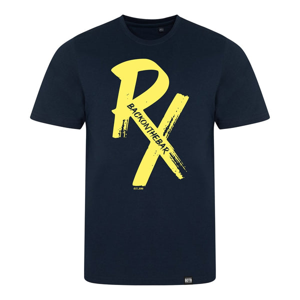 RX Triblend T-Shirt Yellow/Solid Navy