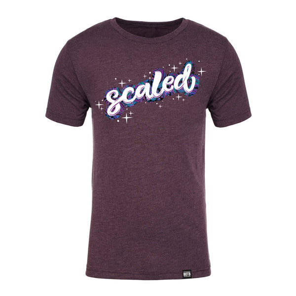 Scaled Tri-Blend T-Shirt - Vintage Purple