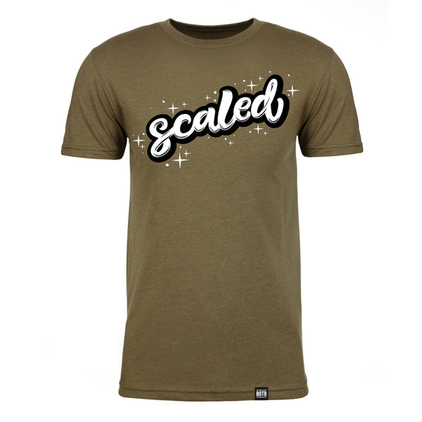 Scaled CVC T-Shirt - Military Green