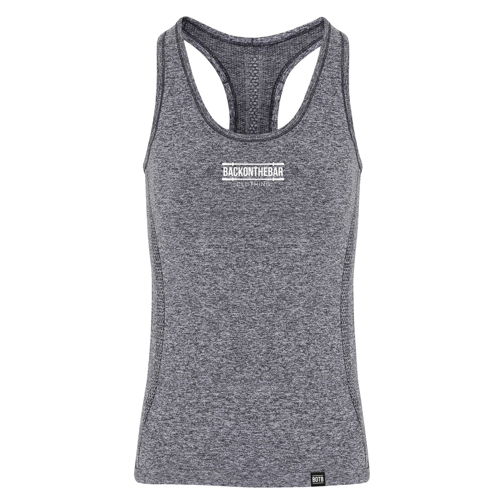 Seamless 3D Fit Sculpt Training Vest - Charcoal