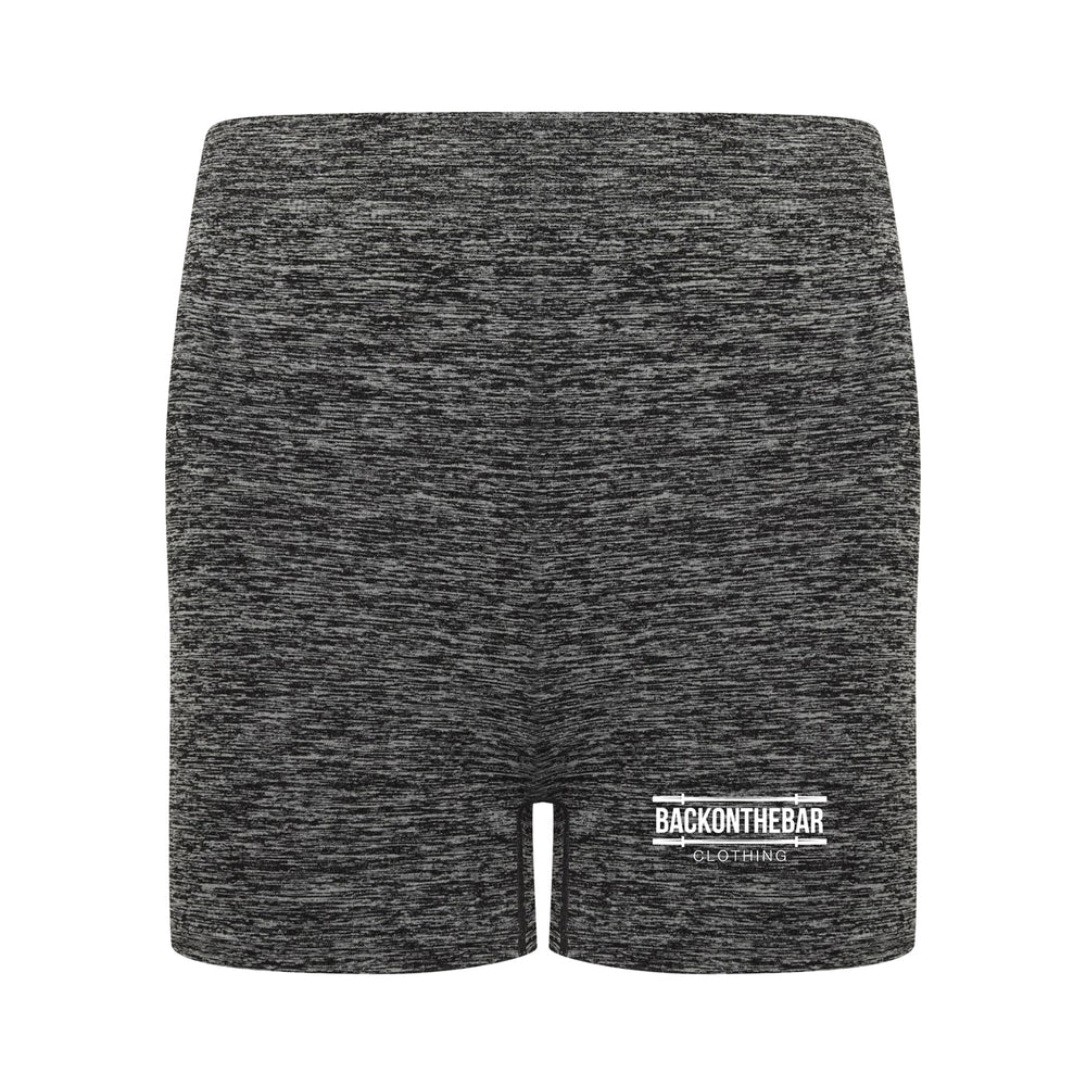 Seamless Shorts - Dark Grey Marl