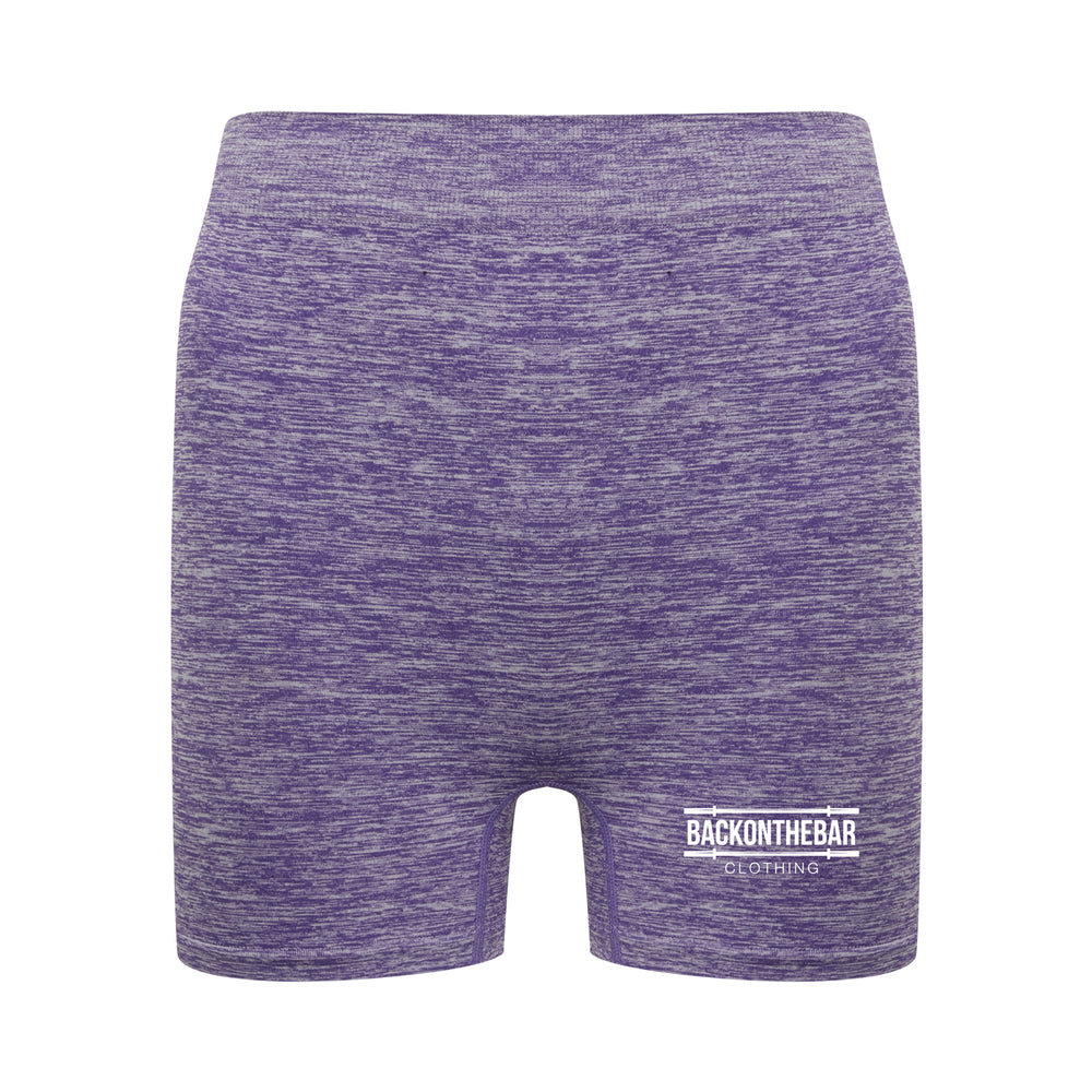 Seamless Shorts - Purple Marl