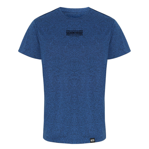 Performance T-Shirt - Teal Black Melange