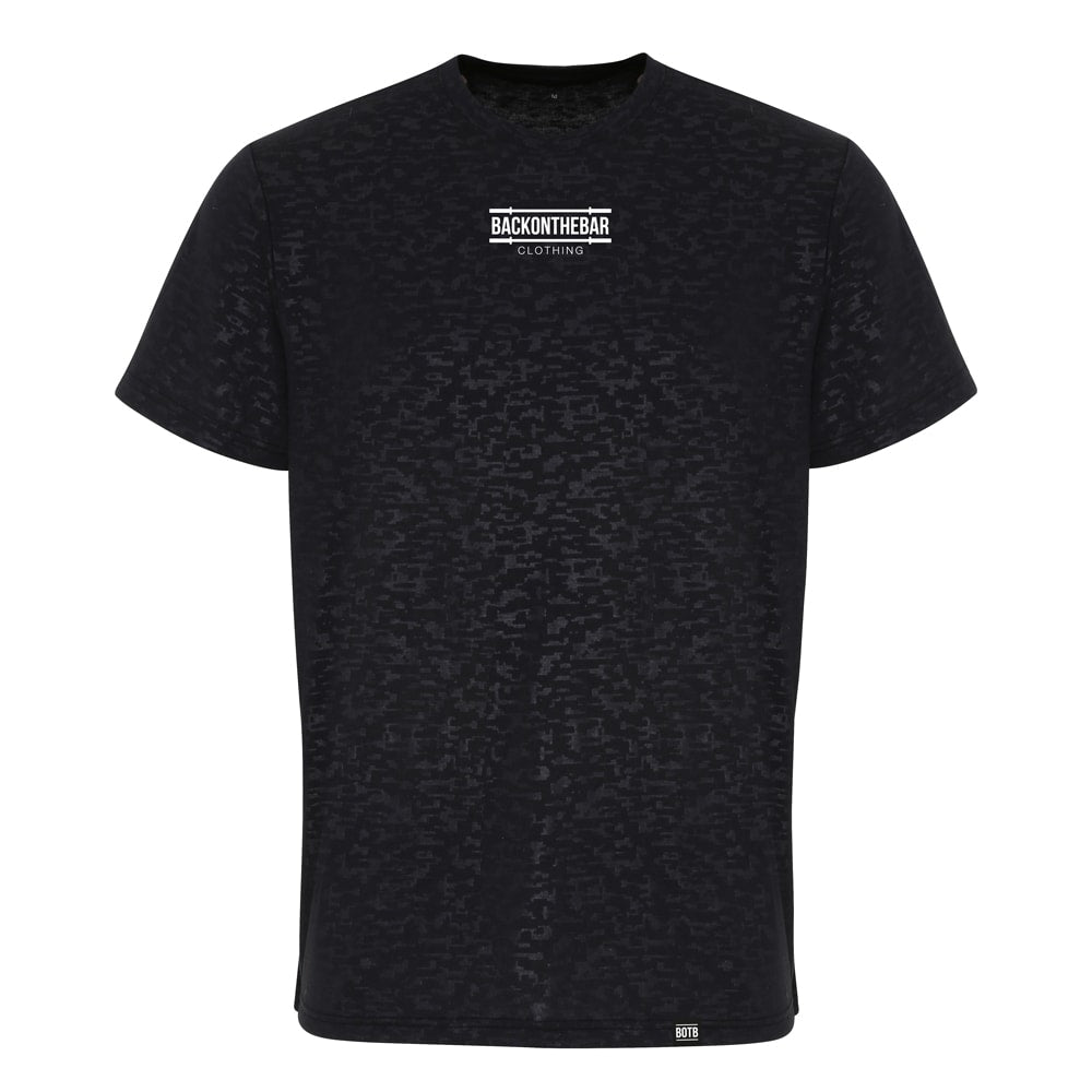 Performance T-Shirt - Black Burnout