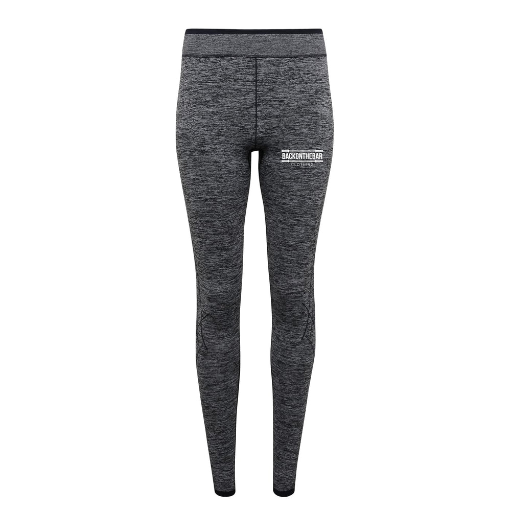 Women's Seamless 3D Fit Leggings - Charcoal