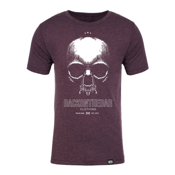 Train Hard T-Shirt - Vintage Purple