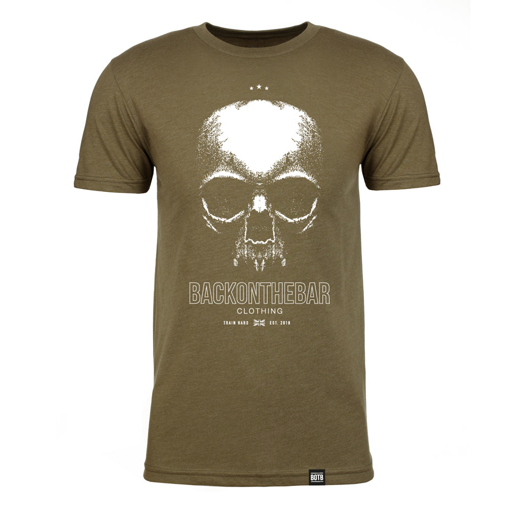 Train Hard T-Shirt - Military Green