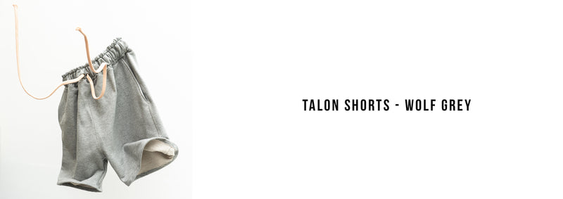 The Talon Wolf Grey Shorts
