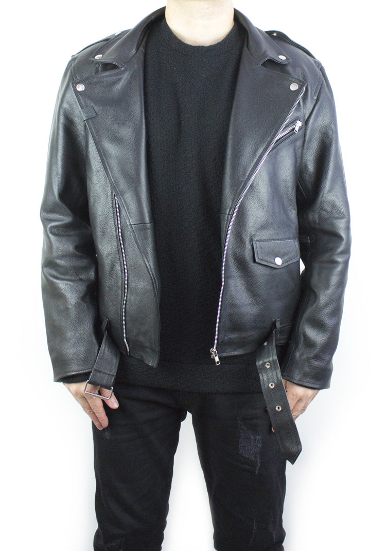 Road Warrior Leather Biker Jacket