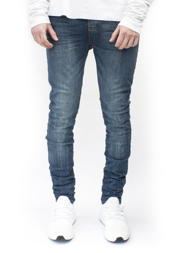 ESSENTIAL DENIM MID BLUE