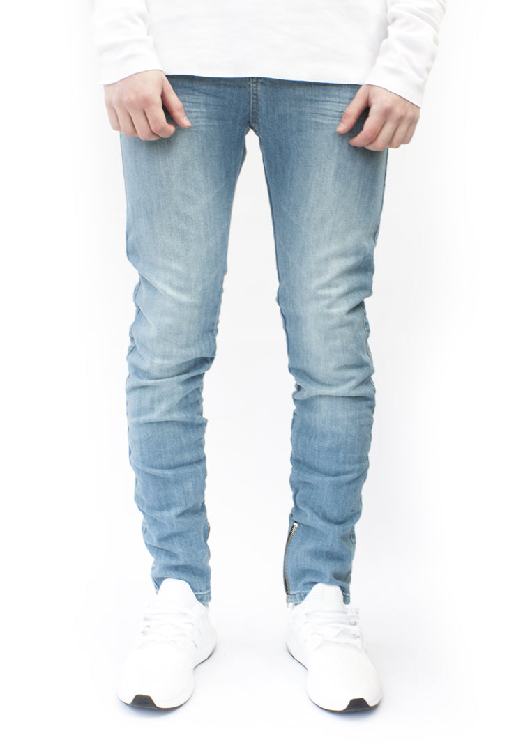 ESSENTIAL DENIM AGED BLUE