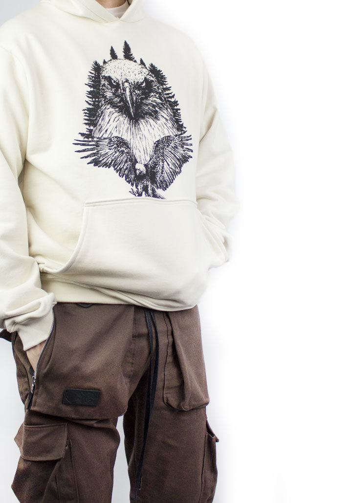 The Eagle Hoodie - Natural