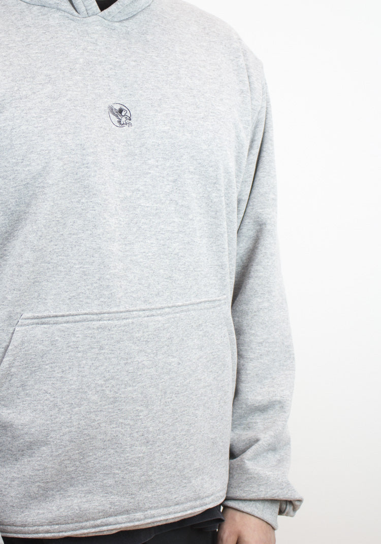Essential Hoody Heather Grey