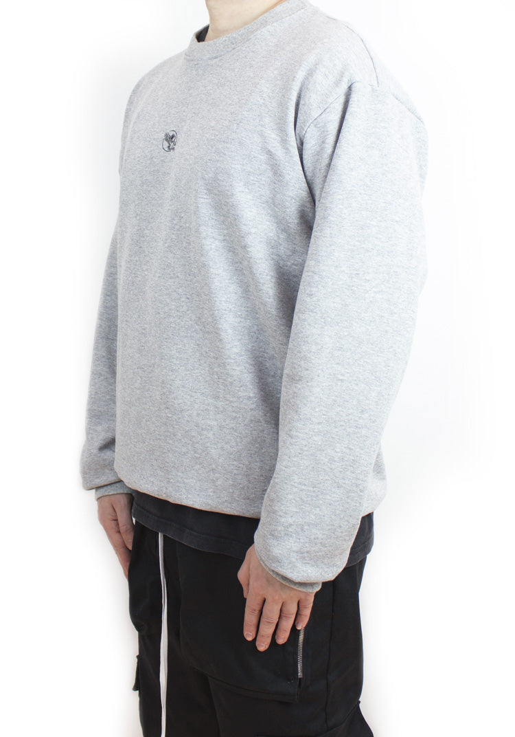 Essential Sweatshirt Heather Grey