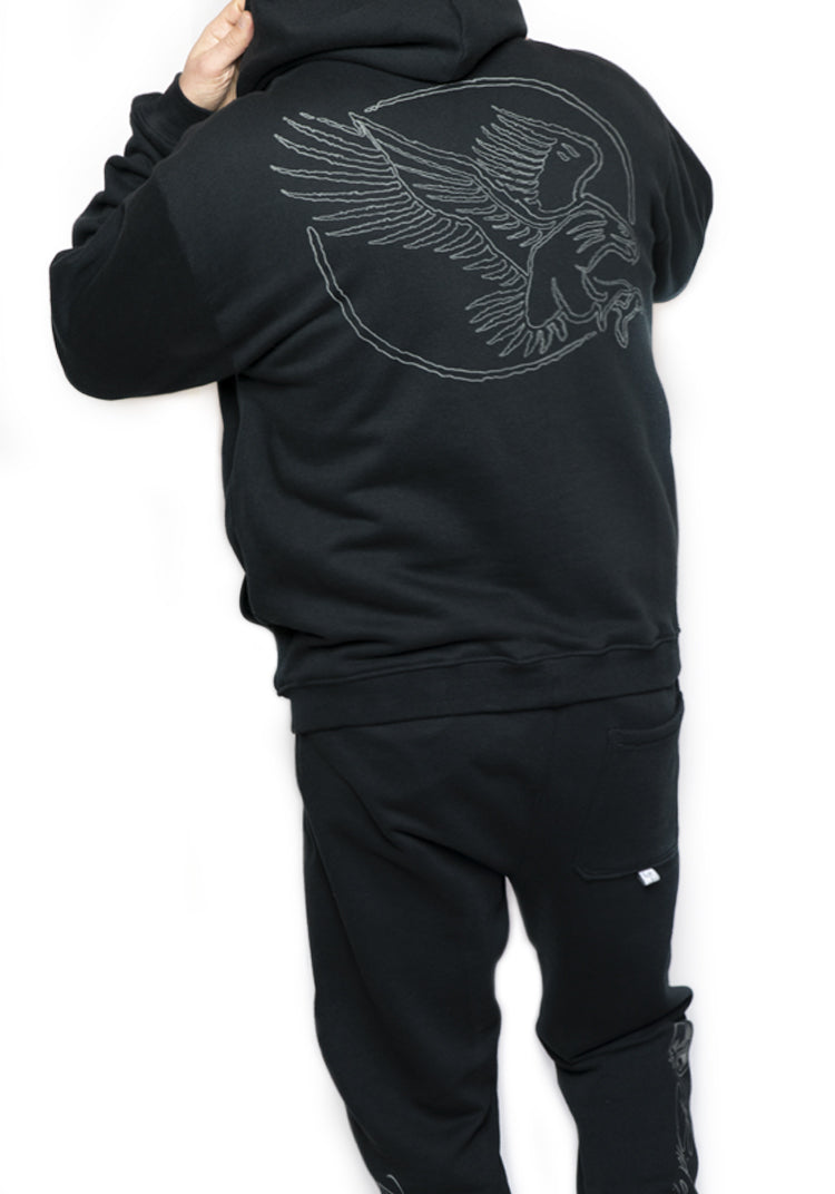 Glow Eagle Hoodie - Limited Edition
