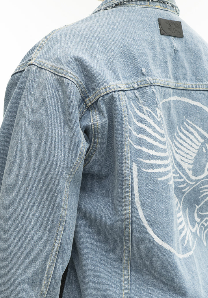 Bird of Pray Patch Denim - LTD