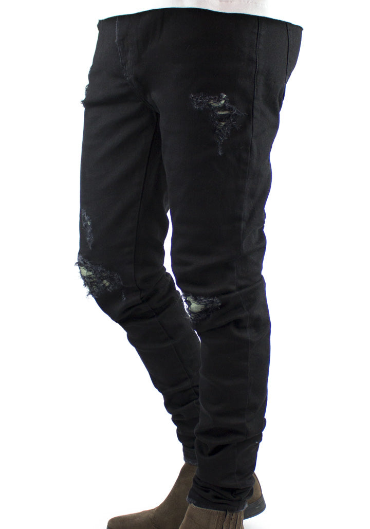 Repair Denim - Black