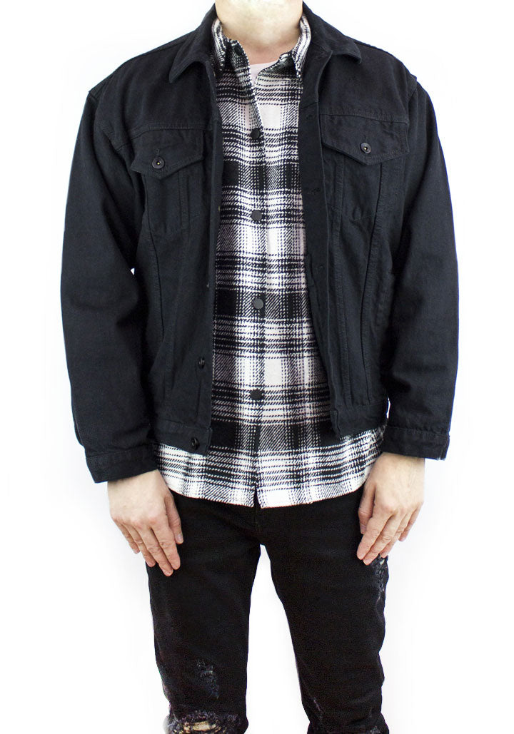 V3 Denim Jacket - Black