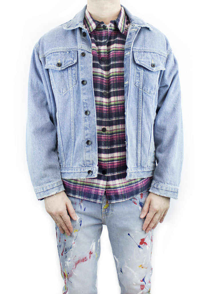 V3 Denim Jacket - Acid Wash
