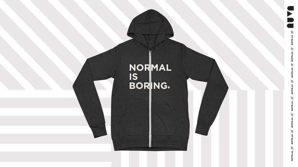 Normal is Boring Zip