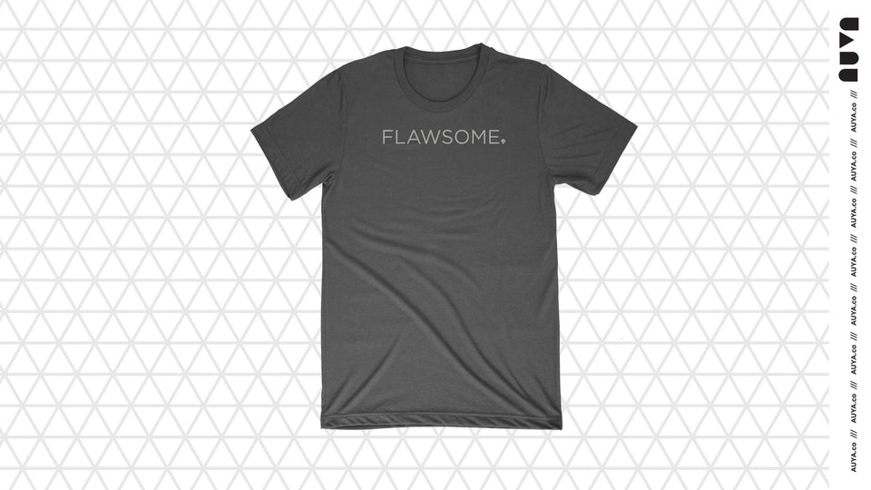 Charcoal Flawsome T-shirt by Auya Co.
