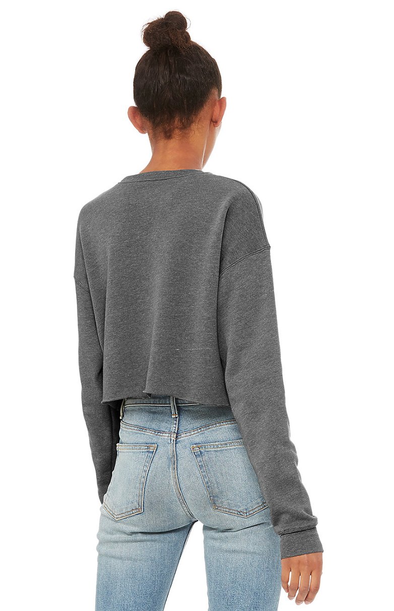 Quad Squad Crop Sweatshirt
