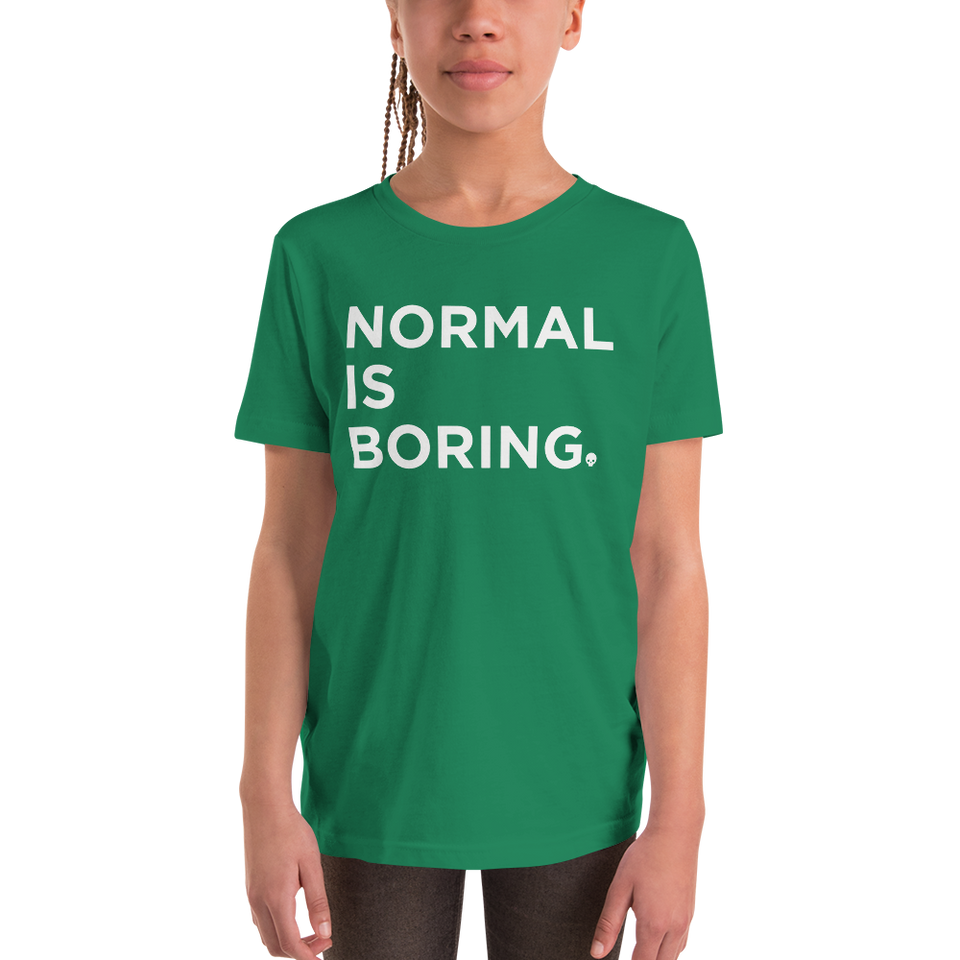 Kale'a's Normal is Boring - Kids Tshirt