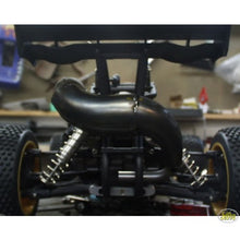 Load image into Gallery viewer, Nutech Racing Thunderbolt II 4WD Rear Mount Exhaust Pipe - Raw Finish