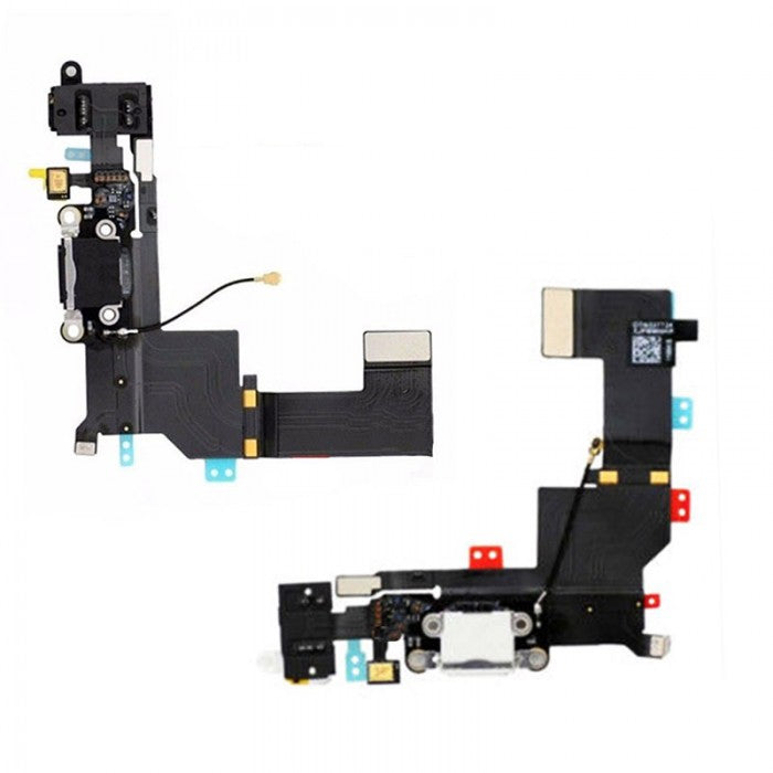 iPhone 5s Charger Flex Cable White | Black