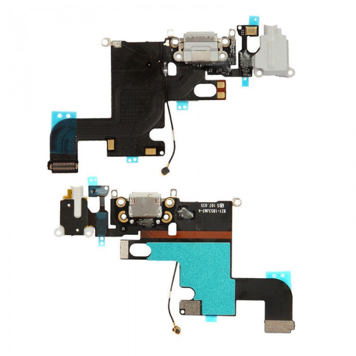 iPhone 6 Charge Port Flex Cable White | Grey