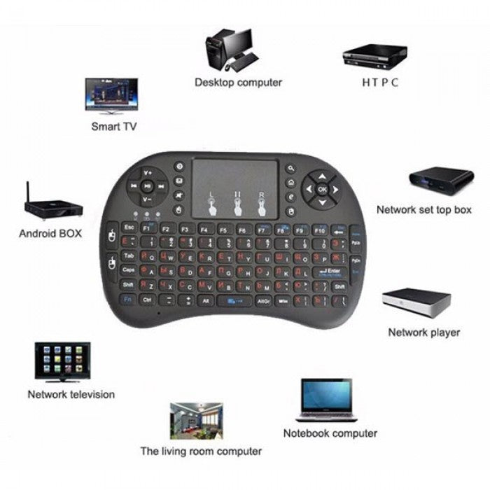 Keyboard Wireless Rii i8 mini